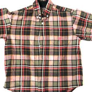 Cinch Boys Button Down Shirt Size Large
